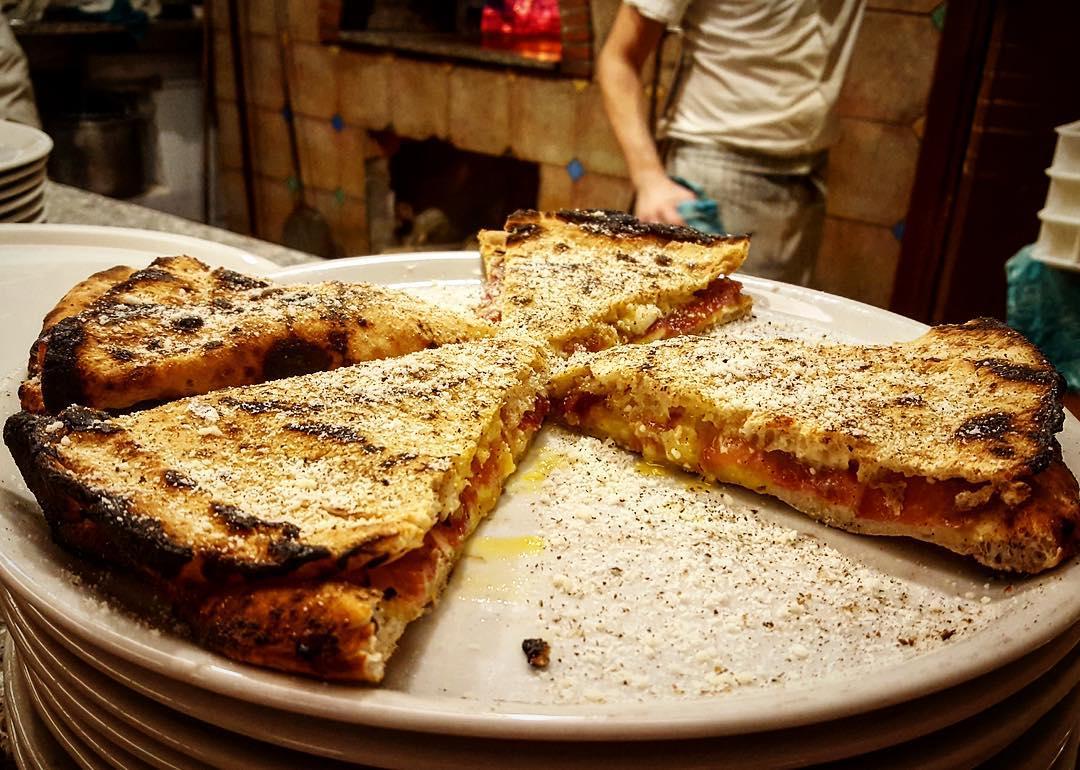 pizza ri-cotta alla carbonara
